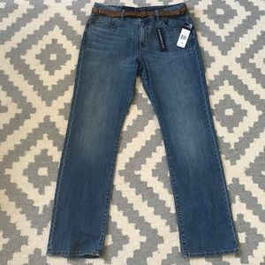 NWT Chaps Madden Straight Slimming Fit Jeans